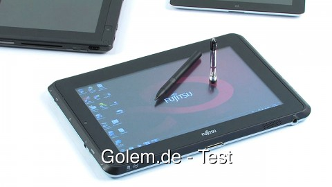 Fujitsu Stylistic Q550 - Test