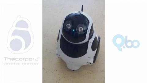 Interaktion Roboter Qbo mit Menschen - Herstellervideo