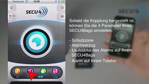 Installation von Secu4bags unter iOS - Herstellervideo
