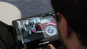 Daniel Pohl zeigt Cloud-Raytracing auf Tablets