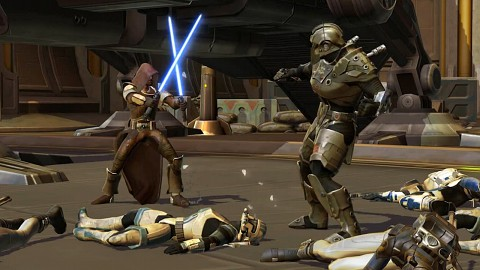 Star Wars The Old Republic - Trailer (Gameplay, Kopfgeldjäger)