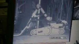 Roboter Warrior wird zum Staubsaugerrroboter - Video von Tepco