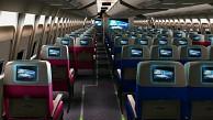X-Plane 10 - Rundgang durch eine Boeing 747-400