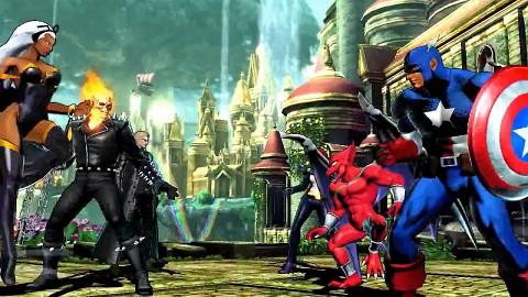 Marvel vs. Capcom 3 - 12 Min. Gameplay-Demos