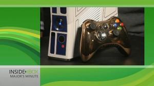 Star-Wars-Xbox mit weißem Kinect-Sensor