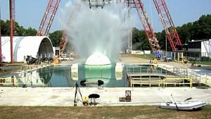 Nasa - Testwasserung einer Orion-Raumkapsel