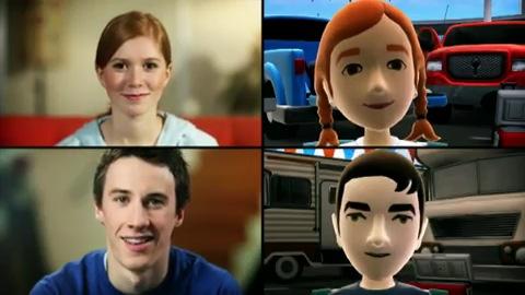 Die Funktionen von Avatar Kinect (Trailer)