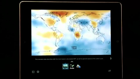 NASA Visualization Explorer für iPad