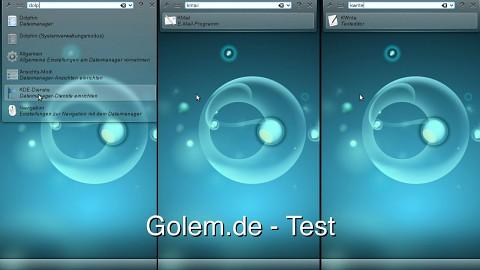 KDE 4.7 - Test