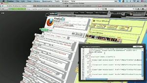Webseiten-Visualisierung in 3D