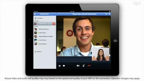 Skype für iPad - Herstellervideo