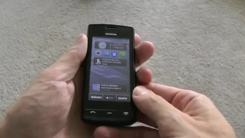 Smartphone Nokia 500 - Herstellervideo
