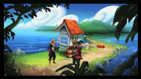 Monkey Island Special Edition - Making of