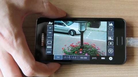 Kamera-Steuerung mit Android-Geräten