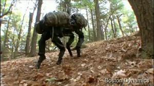 Transportroboter BigDog - Herstellervideo