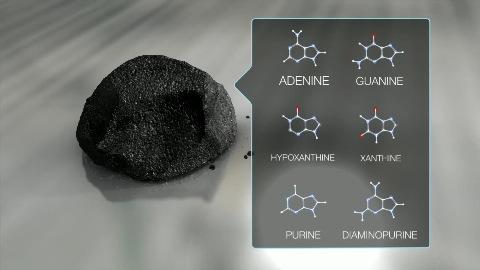 Nasa über DNA-Bausteine in Meteoriten