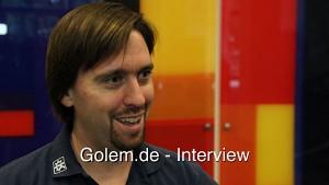 Aaron Seigo von KDE - Desktop Summit 2011