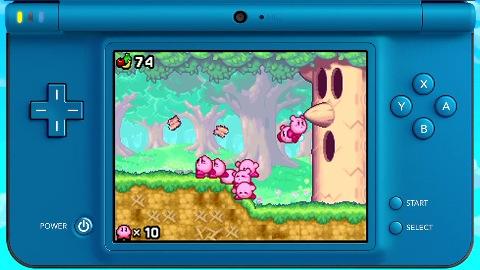 Kirby Mass Attack - Trailer (Gameplay)
