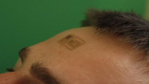 Flexibler Sensor zum Aufkleben