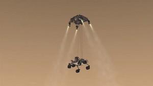 Marsmission des Rovers Curiosity - Video der Nasa