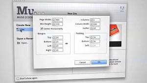 Webentwicklungswerkzeug Adobe Muse