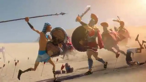Age of Empires Online - Trailer (Launch, Gamescom 2011)