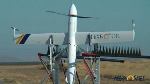 Drohne Flexrotor von Aerovel - Herstellervideo