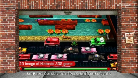 Frogger 3D für Nintendo 3DS - Trailer (Gameplay)