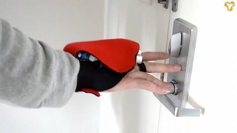 Tacit-Ultraschall-Handschuh ersetzt Blindenstock