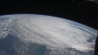 Crew der ISS beobachtet Wirbelsturm Irene