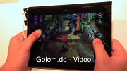 Sony Tablet S - Hands on (Ifa 2011)