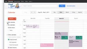 Google Kalender - neues Design