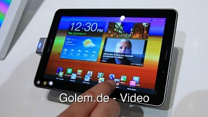 Samsung Galaxy Tab 7.7 - Hands on (Ifa 2011)