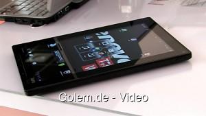 Lenovo Thinkpad Tablet - Hands on (Ifa 2011)
