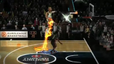 NBA Jam On Fire Edition - Trailer (Euroleague)