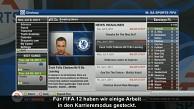 Fifa 12 - Karrieremodus (Form und Moral)