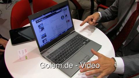 Toshiba Portégé Z830 - Hands on (Ifa 2011)
