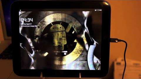 Cyanogenmod 7 RC1 auf dem Touchpad