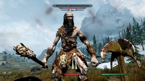 The Elder Scrolls 5 Skyrim - 21 Min. Gameplay