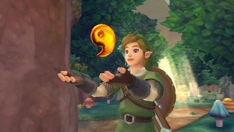 Zelda Skyward Sword - Gameplay (Upgrades)