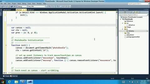 Programmieren für Windows 8 - Demonstration
