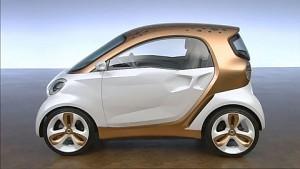 Smart Forvision - Elektroauto der Zukunft