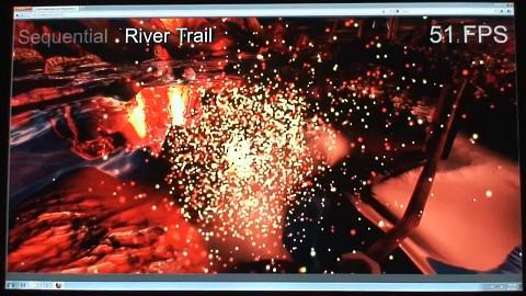River-Trail-Demo von Intel