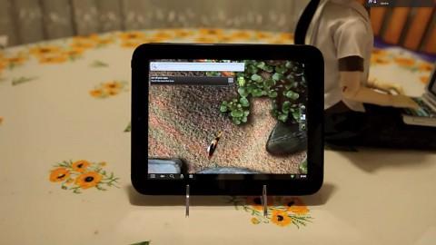 Cyanogenmod auf dem Touchpad von HP