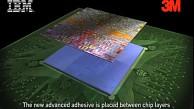 3M und IBM entwickeln neue Klebemittel für Chipstapel