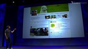 Mark Zuckerberg stellt Timeline für Facebook vor