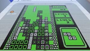 MinecraftA2Z-Gruppe baut Gameboy mit Tetris