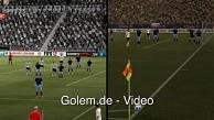 Fifa 12 und PES 2012 im Videovergleich