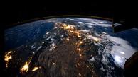 Erdumrundung von der ISS aus gesehen - Nasa
