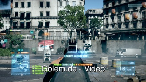 Battlefield 3 Beta - Menüs und Gameplay (Xbox 360)